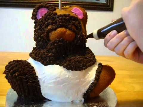 Baby Bear Cake Youtube