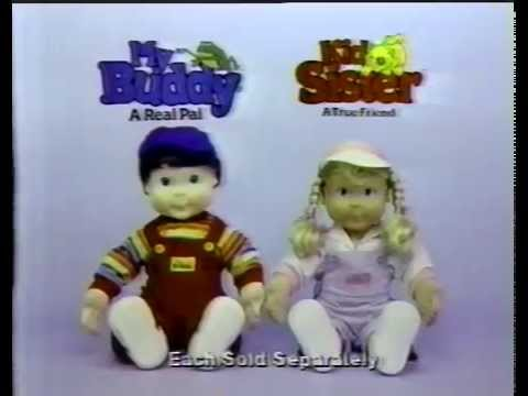 1989 My Buddy and Kid Sister Commercial
