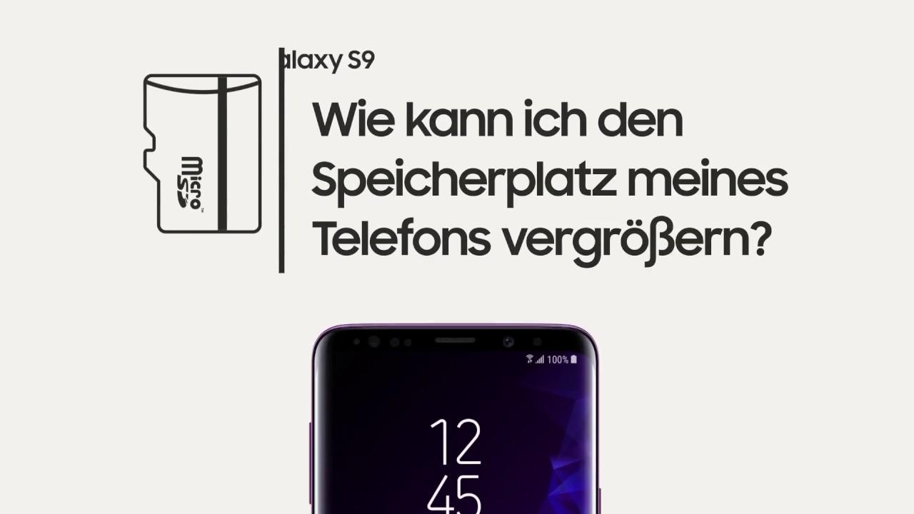 Samsung Galaxy S7 Sd Karte Als Standardspeicher.Samsung Galaxy S9 S9 Vereinfachte Erweiterung Deines Speicherplatzes