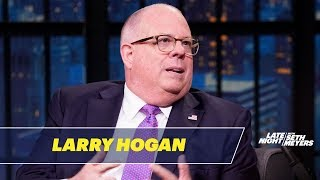 Gov. Larry Hogan Is a Republican Who Believes in Climate Change