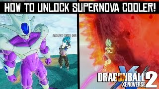 Dragon Ball Xenoverse 2 - How to unlock Supernova Cooler Ultimate Attack for Custom Character!