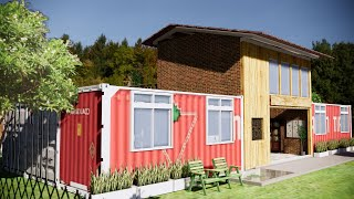 貨櫃屋農舍設計