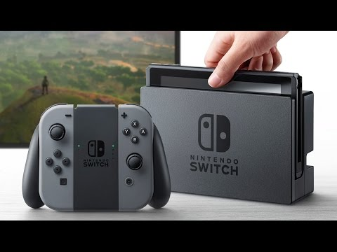 Nintendo Switch revealed - BBC Click