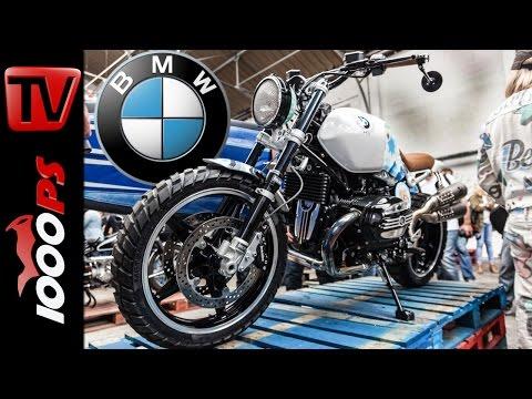 BMW R nineT Scrambler 2015 | First Look & Details | Wheels & Waves 2015 Foto