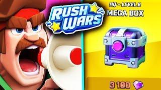 MEGA BOX IN NOUL UPDATE DE PE RUSH WARS!