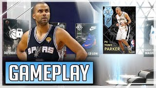 DIAMOND TONY PARKER DROPS 40 IN DEBUT! NEW PLAYOFF MOMENTS PACKS! (NBA2K18 MYTEAM GAMEPLAY)