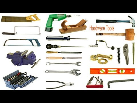 Hardware Tools Name With Images & English Meaning | Necessary Vocabulary Tutorial