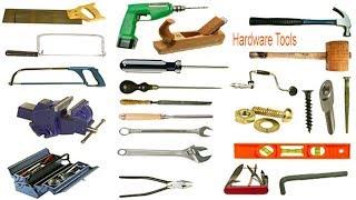 Hardware Tools Name with Images & English Meaning & Phonetics Symbol   English Vocabulary