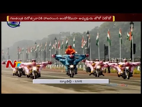 69th Republic Day Parade 2018 At Rajpath || President Ramnath Kovind || PM Narendra Modi || Part 03