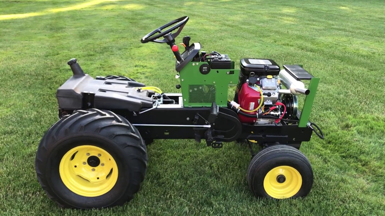 John Deere 318 DIY Briggs Vanguard 23hp Swap  RUNS! Part: 4