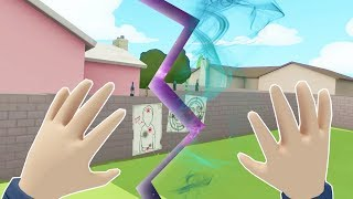 WHEN THE WORLD FINALLY BREAKS - Rick and Morty Virtual Rick-ality VR 2018 Gameplay