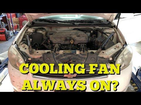 Radiator Fan Stay On? - Diagnosing A Constantly Running Fan