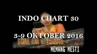 Chart Lagu Indonesia - INDO CHART 30 (3-9 OKTOBER 2016)