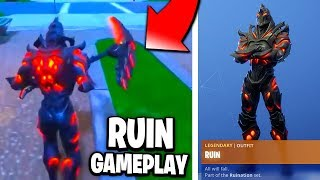 The New FREE RUIN SKIN In Fortnite.. (RUIN SKIN GAMEPLAY)