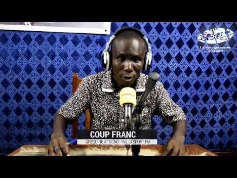 SPORTFM TV - COUP FRANC DU 12 AVRIL 2018 PRESENTE PAR GREGOIRE ATTIGNO