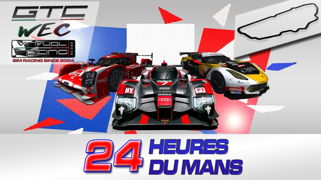 wec 2016 2017 24 heures du mans gara rfactor 2 le mans youtube. Black Bedroom Furniture Sets. Home Design Ideas