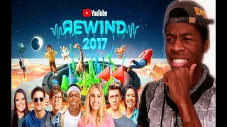 YouTube Rewind The Shape of 2017  #YouTubeRewind - REACTION