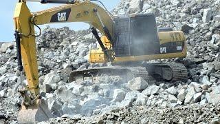 CAT 320D Excavator Komatsu WA350 WA200 Wheel Loader Dump Truck Toyota Dyna 130HT