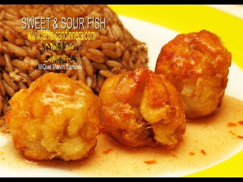 Easy! SWEET AND SOUR FISH-BALLS: Asian Americas Dinners