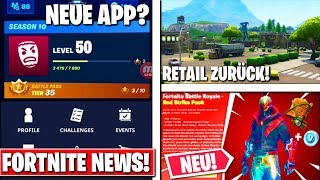 Fortnite: Pocket Manager Fortnite APP, New Starter Pack, Retail Row revient!!