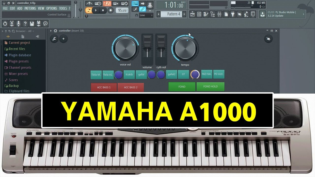 PROGRAM FL TÉLÉCHARGER STUDIO A1000 RAI YAMAHA