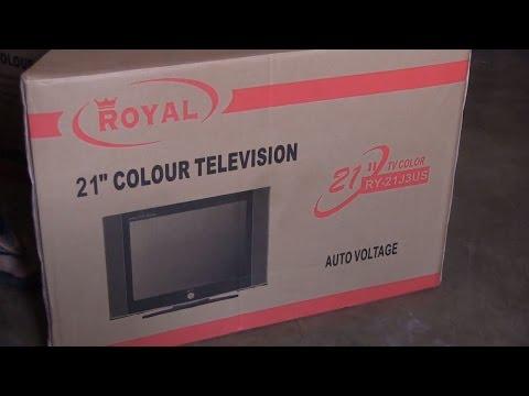 Abriendo Tv Convencional De 21 - Marca ROYAL - Modelo: RY-21J3US