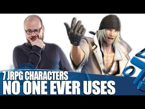 7 Rubbish JRPG Characters No-one Ever Has In Their Party