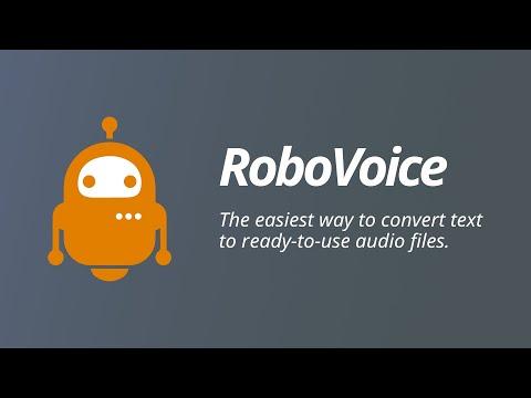 RoboVoice - Short Demonstration Video