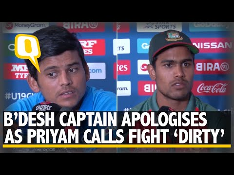 B'desh Skipper Says Sorry After Ugly Spat With India in U-19 WC Final | The Quint