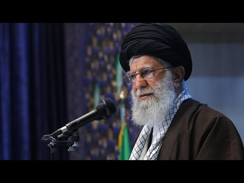 video: Iran's supreme leader says Europe 'cannot be trusted' in rare Friday prayers address