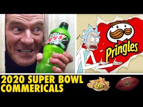 Ranking Super Bowl Commercials 2020