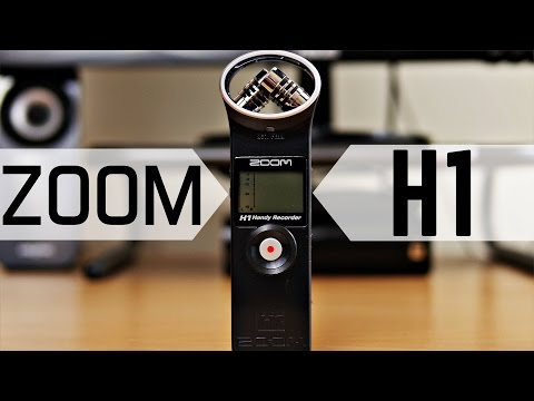 Zoom H1 Digital Recorder Review & Mic Test