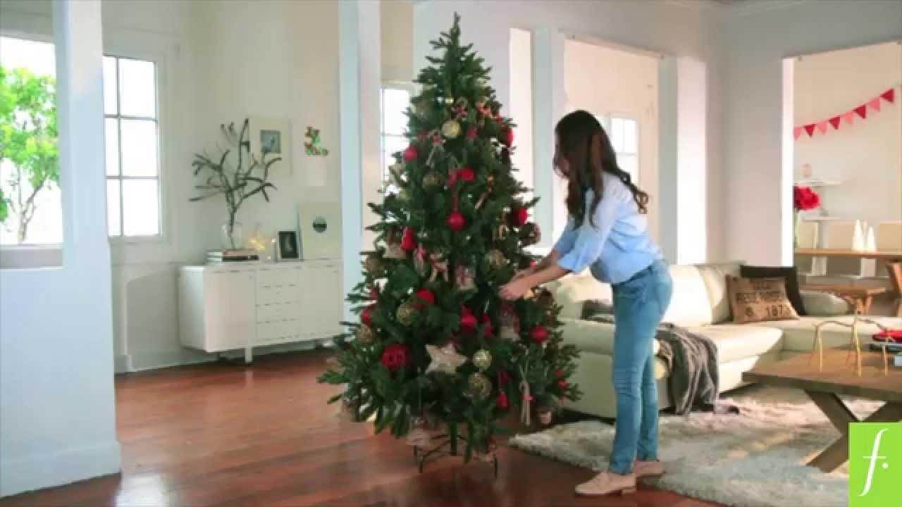 Dcoblogger c mo armar un rbol de navidad para chicos y grandes youtube - Como decorar un arbol de navidad ...