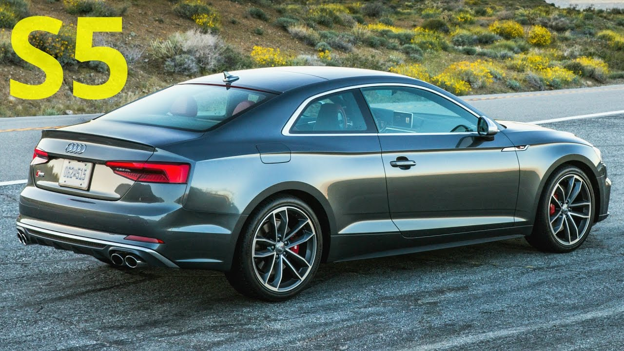 2018 Audi S5 Coupe - Drive, Interior and Exterior, 354 hp ...