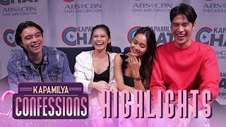 Gillian, Arielle, Jeremiah, and RA take the 'Never Have I Ever' | Kapamilya Confessions Highlight