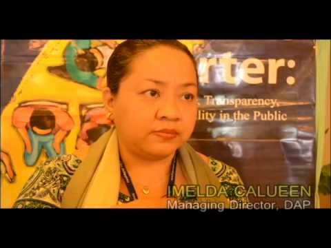 Mga empleyado ng ARMM dumalo sa isinagawang Citizen's Charter Training Workshop ng DAP