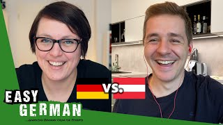 Differences between Austrian German and German German