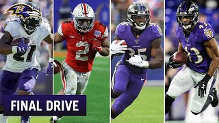 Roles for All Four Running Backs | Ravens Final Drive