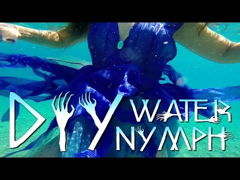 How-to Water Nymph /Fairy Costume Halloween DIY