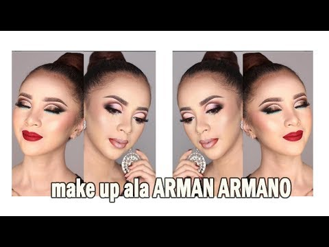 TUTORIAL MAKEUP ALA ARMAN ARMANO