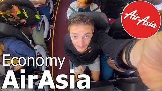 AirAsia Economy REVIEW! (Chiang Mai - Kuala Lumpur) - Cheap Flight