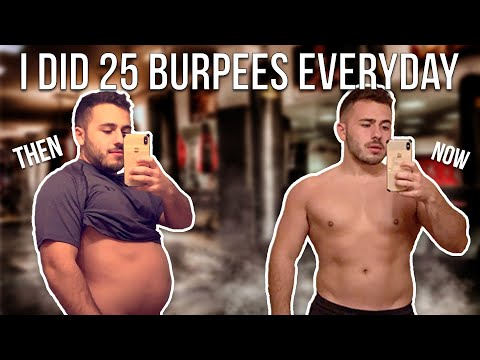 Five Burpee Benefits