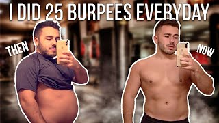 I Did 25 Burpees A Day For One Month | Here's What Happened