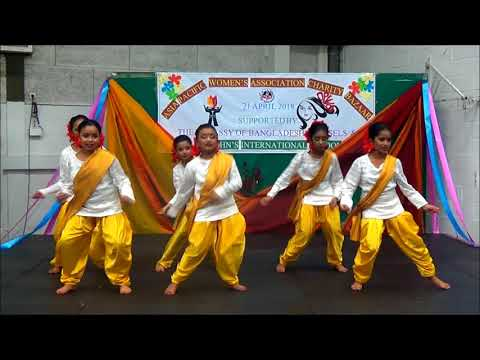 Bornomala -  Performance on the Asia Pacific Women's Association Charity Bazar 2018.