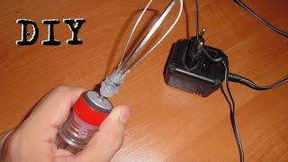 Лайфхак Как сделать мини миксер DIY HOW TO MAKE MINI MIXER lifehack