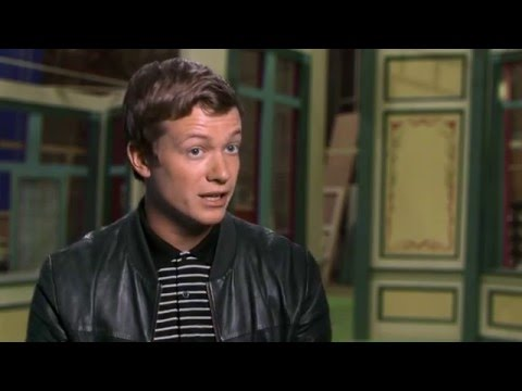 """Alice Through The Looking Glass """"James Harcourt"""" Behind-The-Scenes Interview - Ed Speleers"""