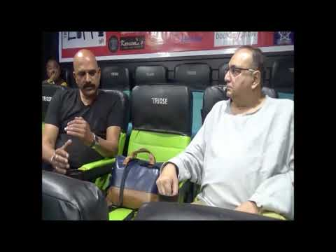 LIFFI 2017 - Mr. Viveck Vaswani talking to Mr. Rajesh Pednekar