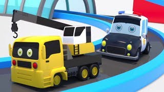 Learning Street Vehicles Names and Sound | Videos for Childrens - Kids Channel