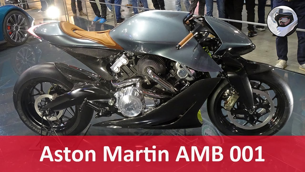 Aston Martin Amb 001 Eicma 2019 Youtube