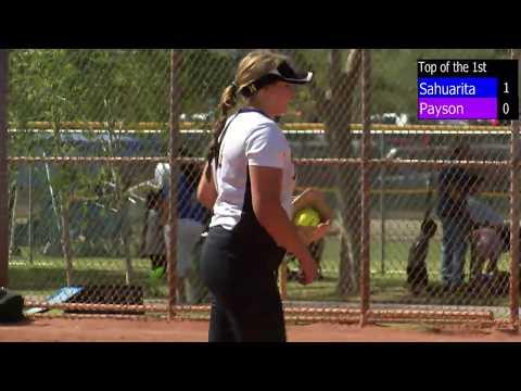 Sahuarita vs Payson High School Softball 3A State Playoffs Full Game